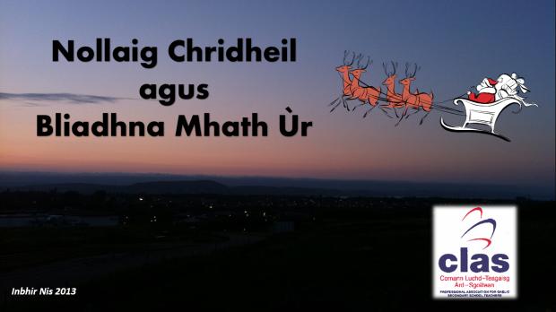 Nollaig Chridheil CLAS